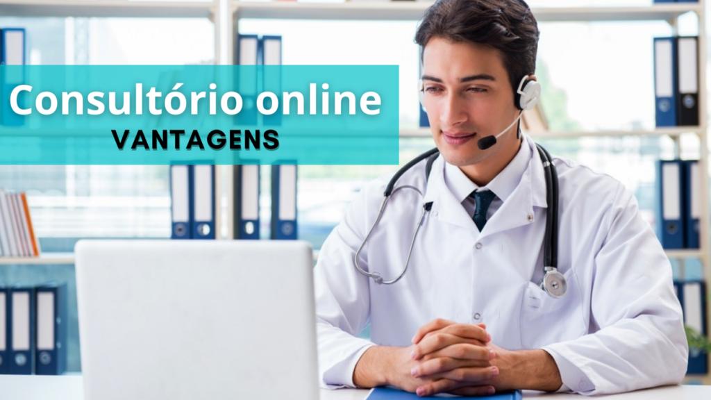 consultório médico online